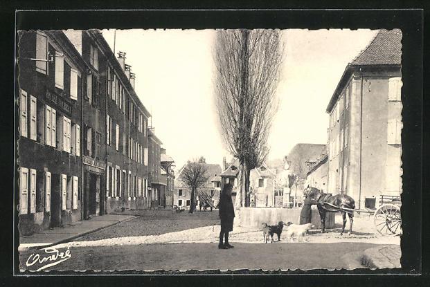 AK Mens, Place du Petit-Breuil