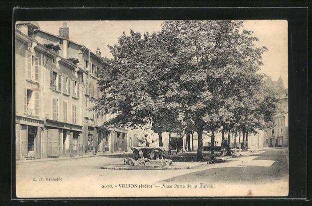 AK Voiron, Place Porte de la Buisse