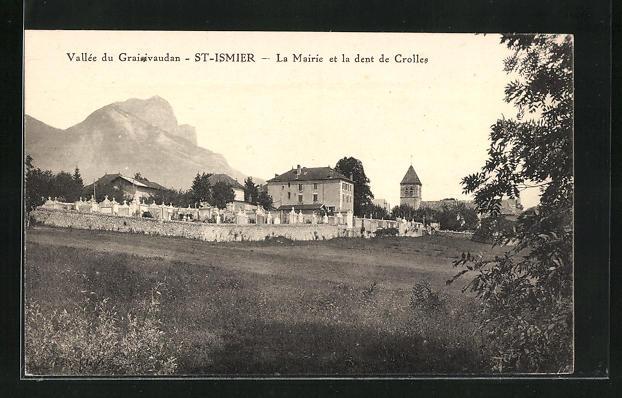 AK St-Ismier, La Mairie et la dent de Crolles