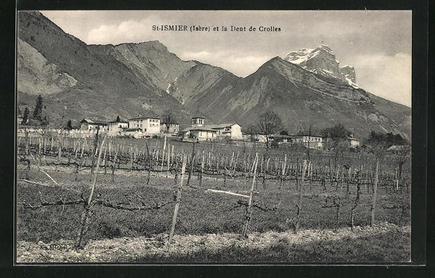 AK St-Ismier, Panorama et la Dent de Crolles