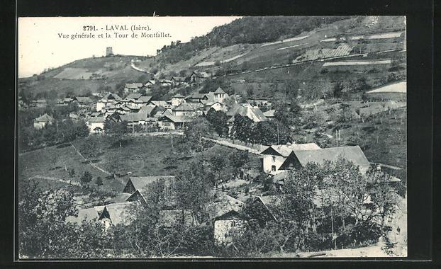 AK Laval, Vue generale et la Tour de Montfallet