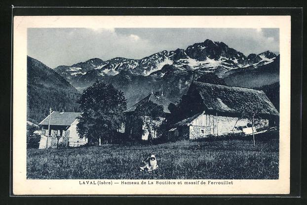 AK Laval, Hameneau de la Boutiere et massif de Ferrouillet