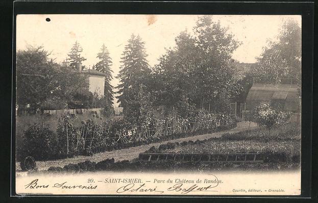 AK Saint-Ismier, Parc du Chateau de Randon