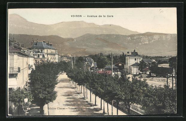 AK Voiron, Avenue de la Gare