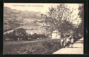 AK Theys, Vue sur le Vernay