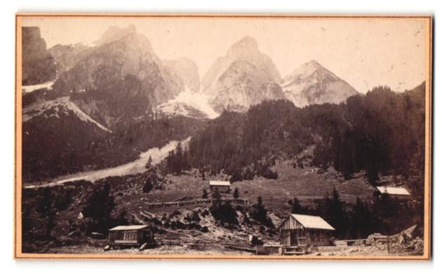 Fotografie A. Elfsenwenger, Goisern, Ansicht Gosau, Gosausee - Klause