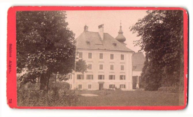 Fotografie Baldi & Würthle, Salzburg, Ansicht Salzburg-Aigen, Schloss Aigen