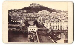 Fotografie Fotograf unbekannt, Ansicht Neapel, Koster San Martino, schöne Stadtansicht
