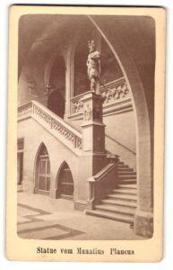 Fotografie Fotograf unbekannt, Ansicht Basel, Statue vom Munatius Plancus