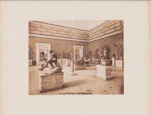 Fotografie Fotograf unbekannt, Ansicht Neapel - Napoli, Museo di Napoli, Sala dei bronzi