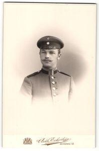 Fotografie Arth. Eckerlein, Lindau, Portrait Unteroffizier in Uniform