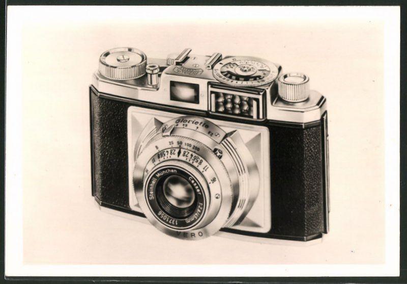 Fotografie Fotoapparat - Sucherkamera Braun Gloriette, Produktwerbung
