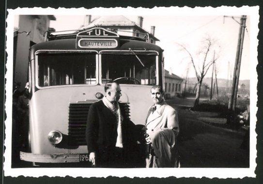 Fotografie Bus Renault, Linienbus nach Hauteville