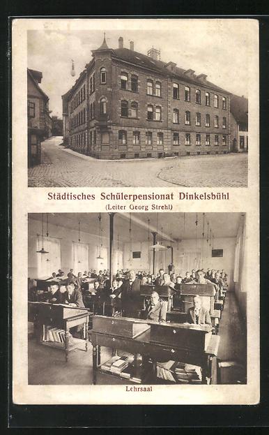 AK Dinkelsbühl, Städtisches Schülerpensionat, Lehrsaal