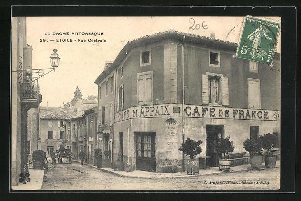 AK Etoile, Rue Centrale, Café de France
