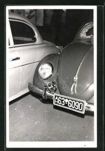 Foto-AK Detail von VW Käfer
