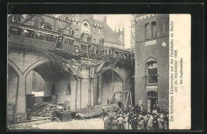 AK Berlin-Kreuzberg, Ochbahnunglück 26. Sept. 1908