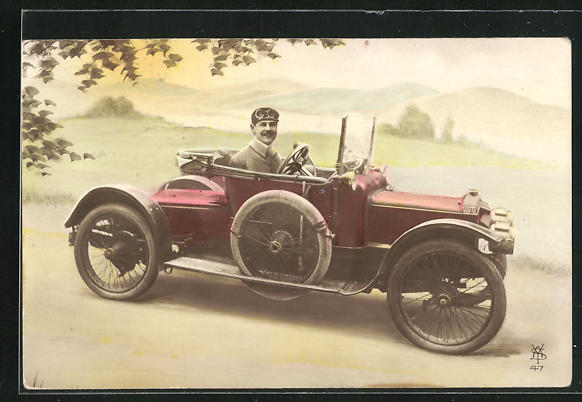 AK Daimler Automobobil ca. 1912