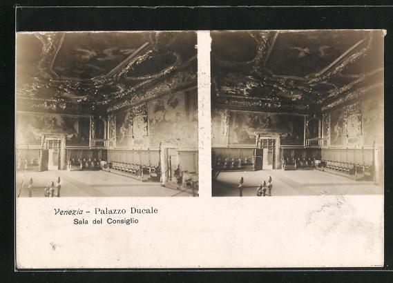 Stereo-AK Venezia, Palazzo Ducale, Sala del Consiglio