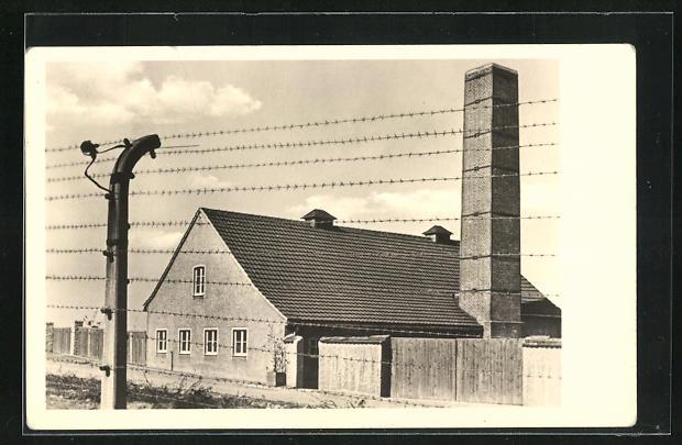 AK Weimar, Ehemaliges KZ Buchenwald, Teilansicht
