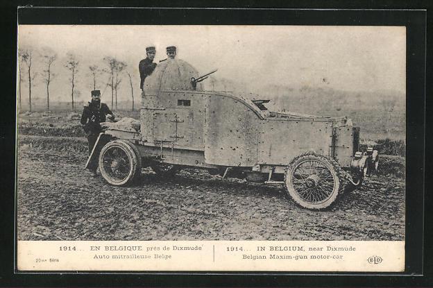 AK Dixmude, Auto mitrailleuse Belge