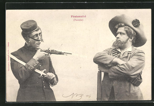 AK Burenkrieg, Soldat bedroht den Gegner mit einer Pistole