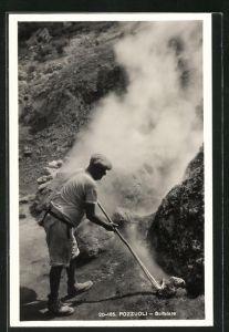 AK Puzzuoli, Solfatare, vulkanische Ausströmung