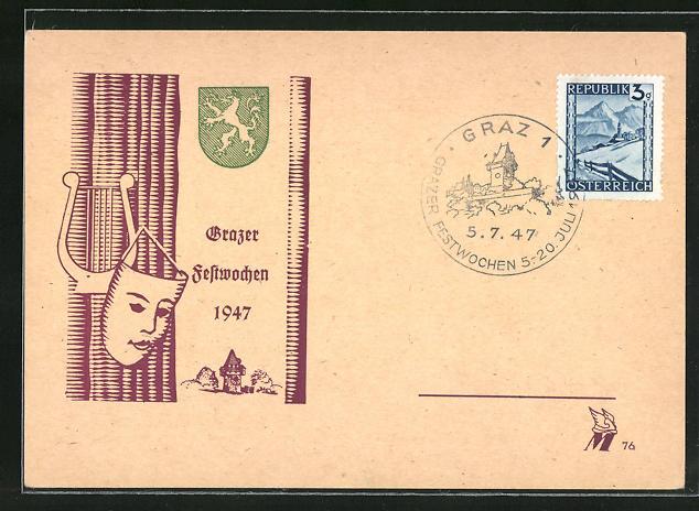 AK Graz, Grazer Festwochen 1947