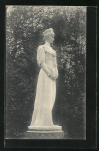 AK Kaiserin Elisabeth (Sissi) von Österreich, Denkmal in Salzburg