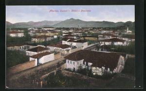 AK Scutari, Panorama mit Bergpanorama