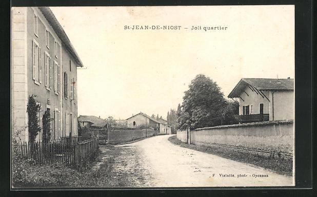 AK St-Jean-de-Niost, Joli quartier