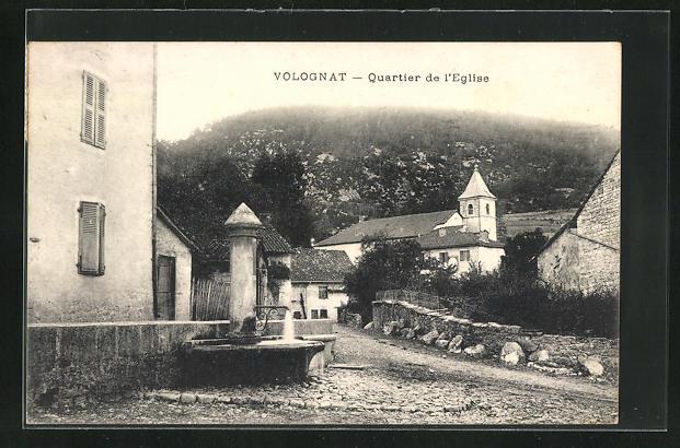 AK Volognat, Quartier de l`Eglise