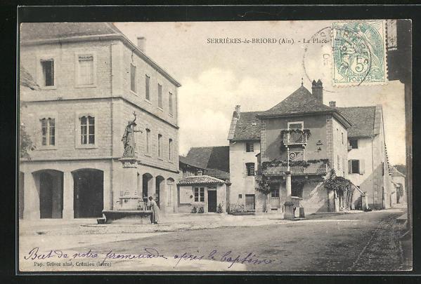 AK Serrieres-de-Briord, La Place