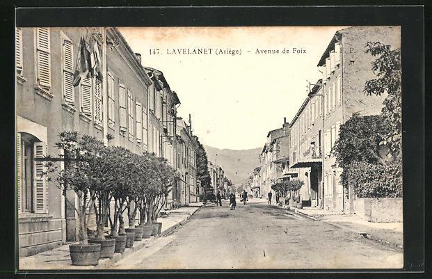 AK Lavelanet, Avenue de Foix