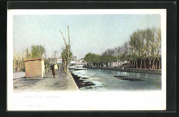 AK Damas, Cours du Barada