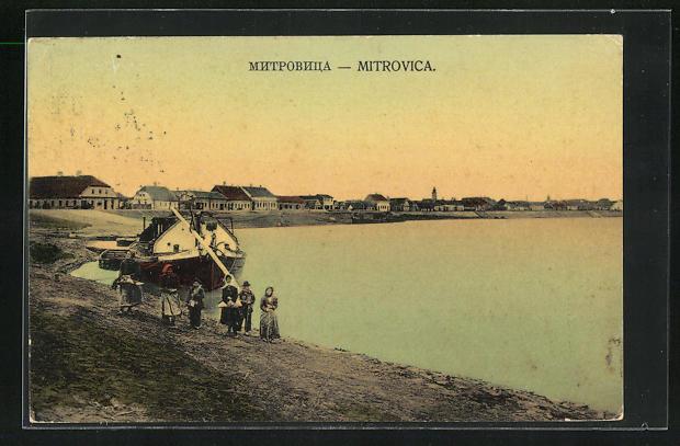 AK Mitrovica, Teilansicht am See