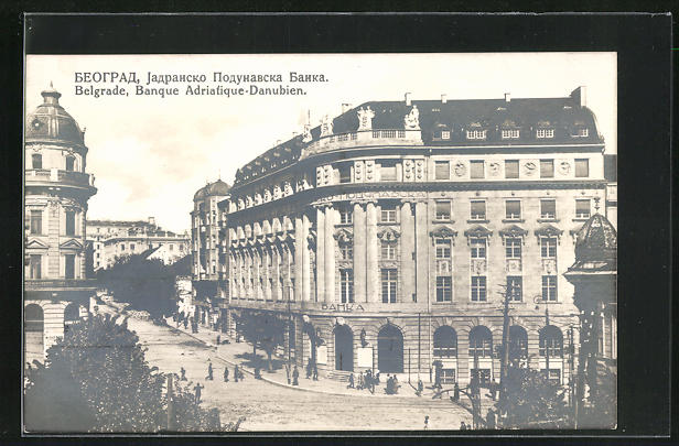 AK Belgrade, Banque Adriatique-Danubien