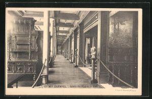 AK Paris, Grand Magazins du Fayel, Galerie des Meubles de Style