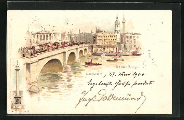 Lithographie London, Bridge