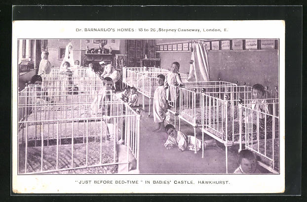 AK Hawkhurst, Just before Bed-Time in Babies` Castele