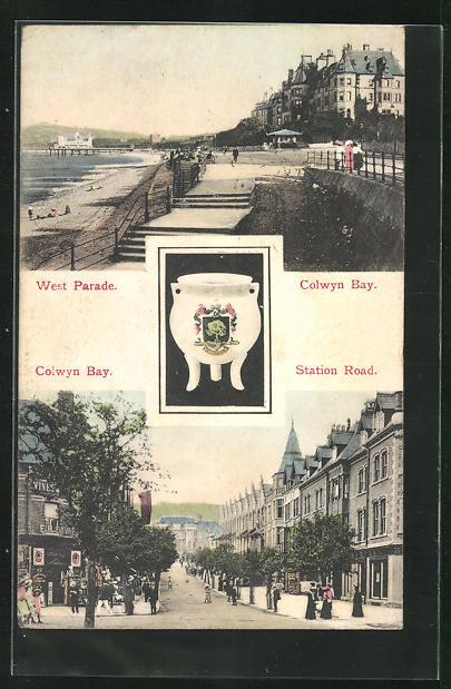 AK Colwyn Bay, West Parade, Station Road