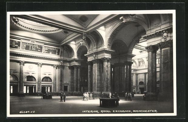 AK Manchester, Royal Exchange, Interior