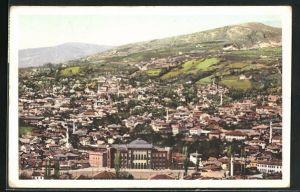 AK Sarajewo, Ortsansicht