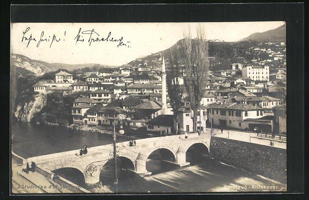 AK Sarajewo-Altfakovac, Teilansicht