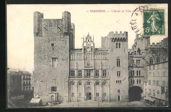 AK Narbonne, L`Hotel de Ville