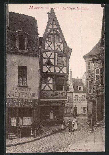 AK Moulins, Un coin du Vieux Moulins