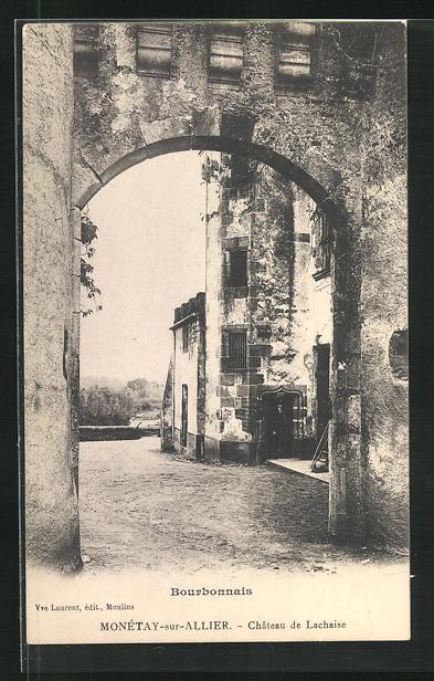 AK Monetay-sur-Allier, Chateau de Lachaise