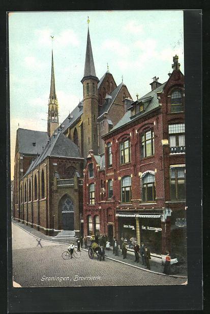 AK Groningen, Broerkerk und Geschäft