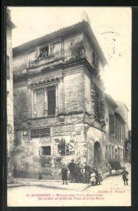 AK Narbonne, Maison des Trois-Nourrices, Ou furent arretes De Thou et Cinq-Mars