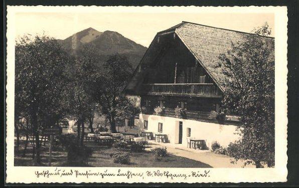 AK St. Wolfgang-Ried, Gasthaus zum Lachsen